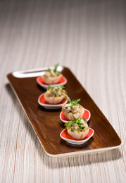 Mushroom and crab appetizer
